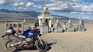 Las huellas del Gengis Khan: Atroces carreteras de Mongolia
