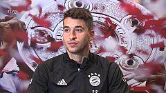 """Marc Roca (Bayern): """"Sabía que tenía posibilidades de fichar por el Atlético"""""""