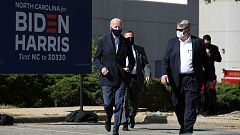 Biden apela al voto de los afroamericanos en un acto en Nevada