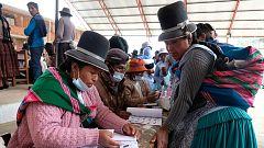 Los sondeos a pie de urna dan la victoria al partido de Evo Morales en la primera vuelta de las presidenciales de Bolivia