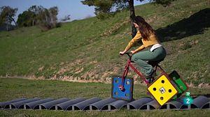 ¿Es posible una bicicleta con ruedas cuadradas?