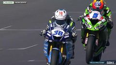 Motociclismo - Campeonato del Mundo Superbike 2020. Prueba Estoril World Supersport 1ª carrera