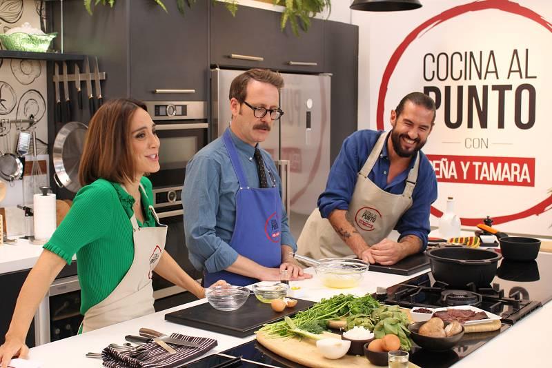 Cocina al punto con Peña y Tamara - Gazpachos manchegos - ver ahora