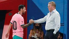 """Ronald Koeman: """"El rendimiento de Messi puede ser mejor"""""""