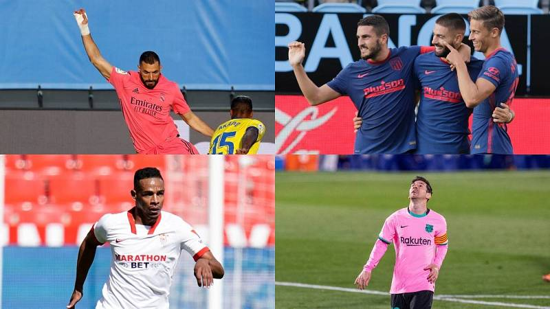 Barça, Sevilla, Atleti y Madrid vuelven a la Champions