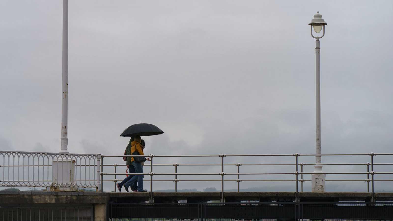 Un frente atlántico 'Bárbara' dejará lluvia abundante en amplias zonas de la península