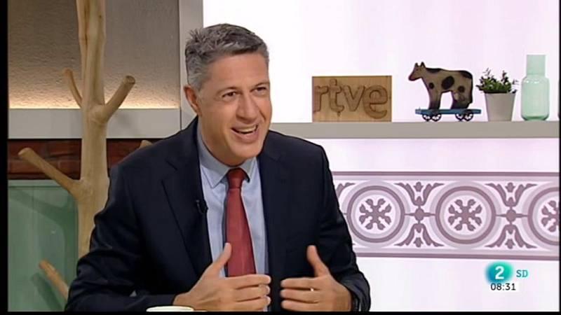 Cafè d'idees - Entrevista a Xavier García Albiol