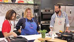 Cocina al punto con Peña y Tamara - Marmitako con corvina