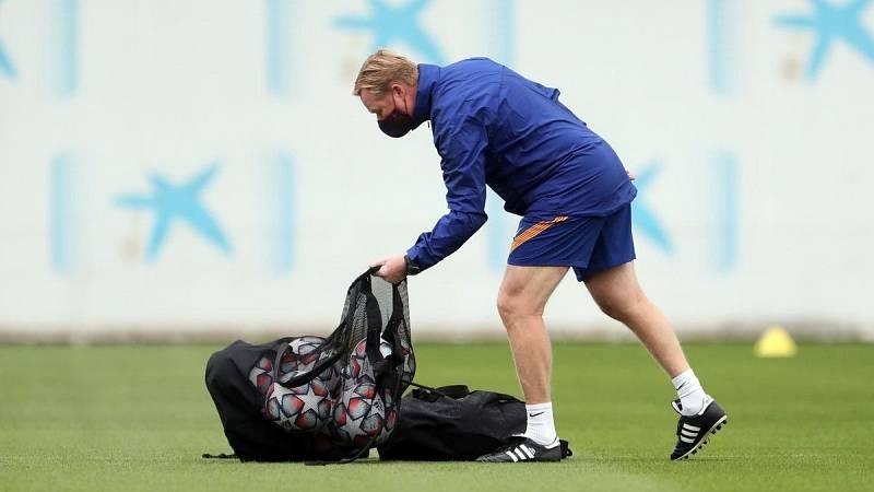 El Barça se estrena en Champions mientras se negocia la adecuación salarial de la plantilla