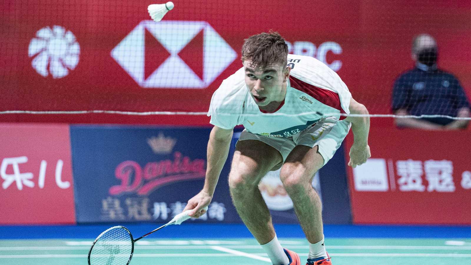 Bádminton - Danisa Denmark Open. Final individual masculina: R. Gemke - A. Antonsen - ver ahora