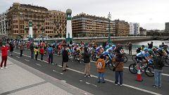 Vuelta ciclista a España 2020 - 1ª etapa: Irún - Arrate-Eibar (Podium)