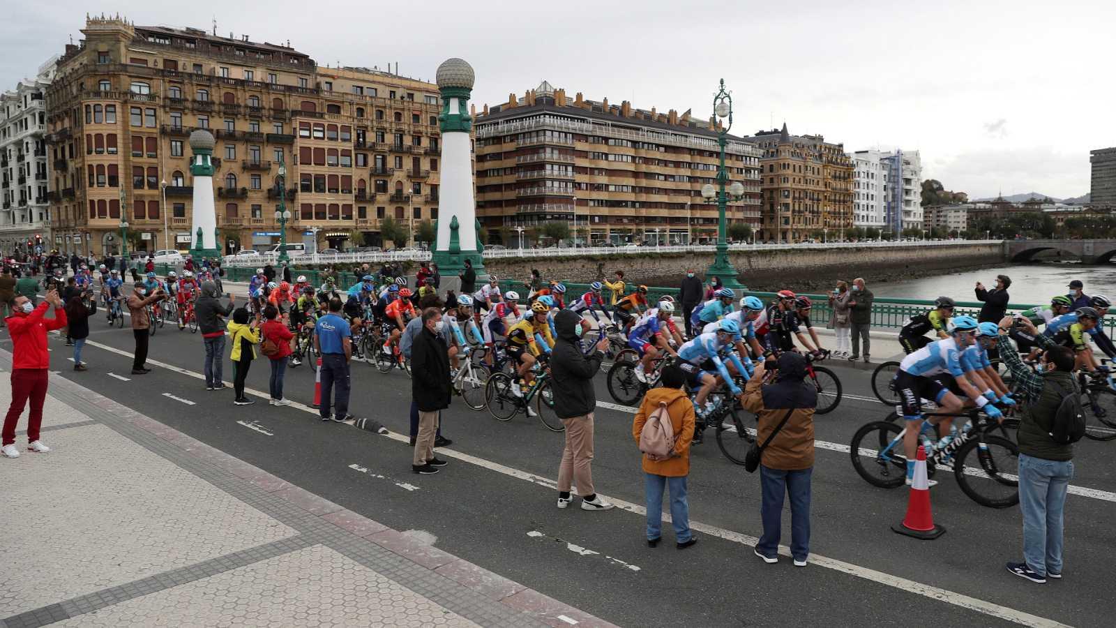 Vuelta ciclista a España 2020 - 1ª etapa: Irún - Arrate-Eibar (Podium) - ver ahora