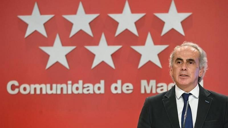 """Ruiz Escudero: """"Nos dijo el ministro que el estado de alarma decaerá el sábado a las 16:47"""""""