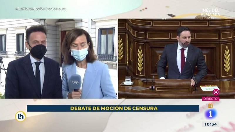 """Edmundo Bal califica la moción de censura como """"irresponsable e inútil"""""""