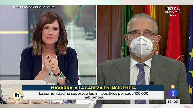 Navarra supera los mil positivos por cada 100.000 habitantes