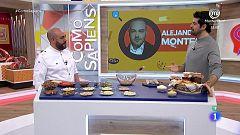 Alejandro Montes prepara una crema chocolate con almendras