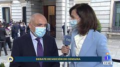 """Rafael Simancas: """"Nos sorprende que el PP no tenga claro que hay que votar en contra de esta ultra derecha"""""""