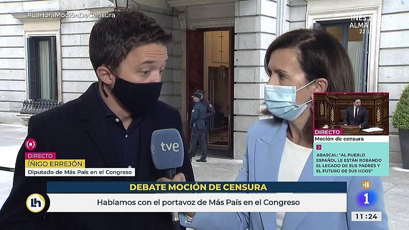 """Errejón: """"A la extrema derecha le tenemos que recordar siempre que España no les pertenecer"""""""
