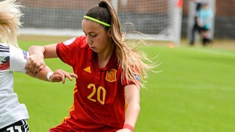 Atenea del Castillo, nueva incorporación a la selección española de fútbol