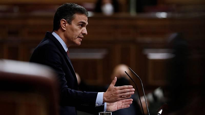 Sánchez reprocha a Abascal que compare su gobierno con el de Franco
