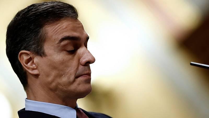 """Sánchez le dice a Abascal que la democracia en España """"no tiene marcha atrás"""""""