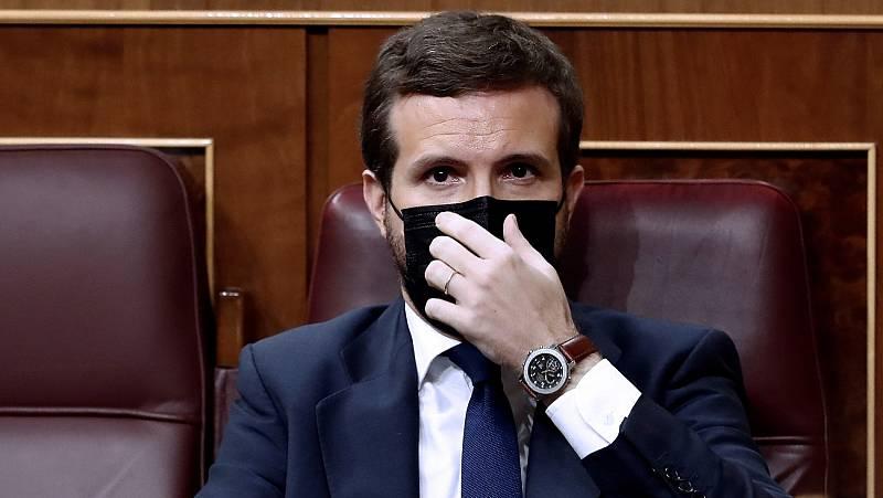 """El PP calilifica de """"inútil"""" la moción de censura de Vox pero no revela si votará 'no' o se abstendrá"""