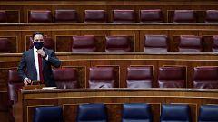 Ningún partido respalda la moción de Vox contra el Gobierno en su primera sesión