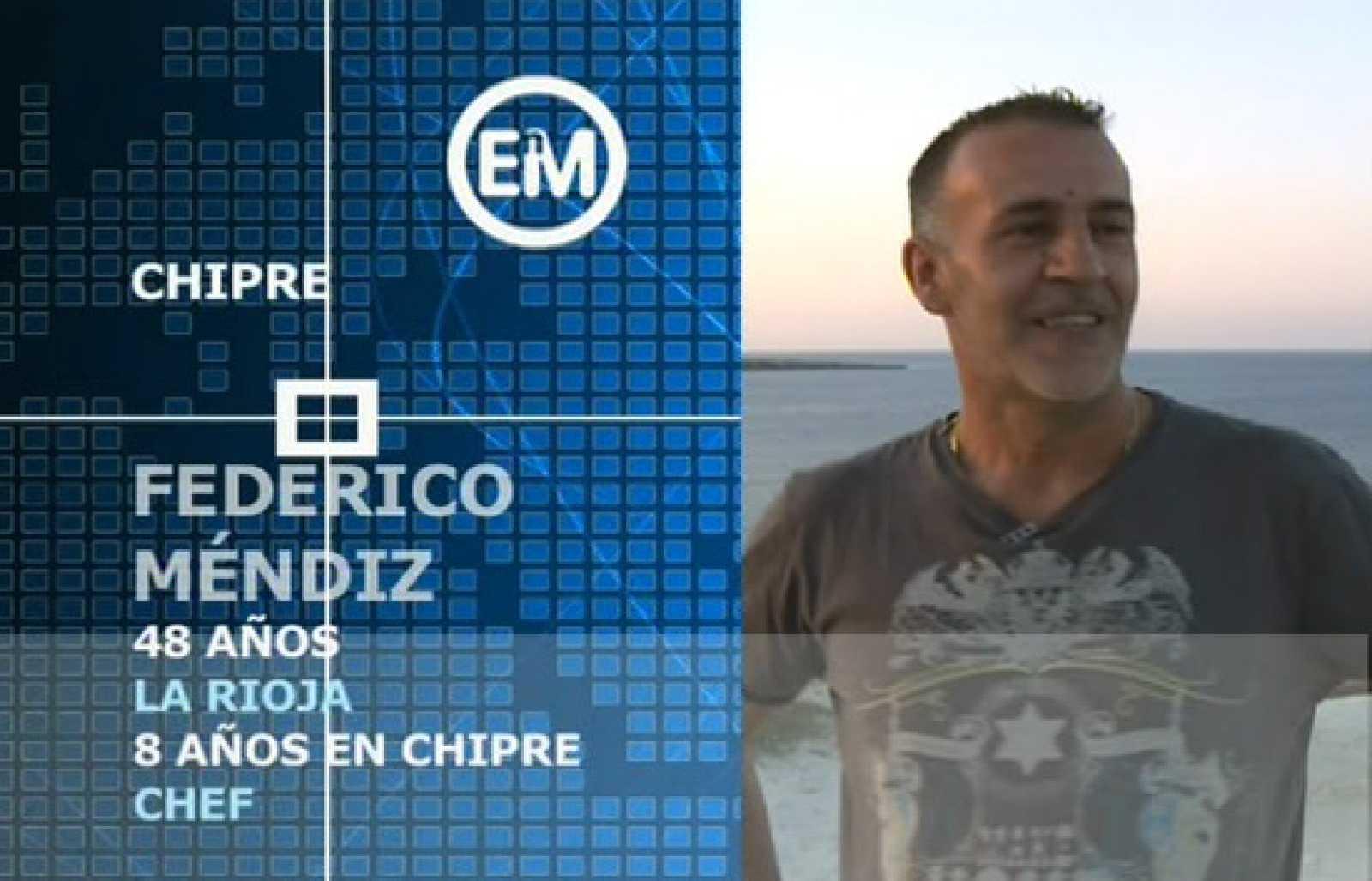 Españoles en Chipre . Federico