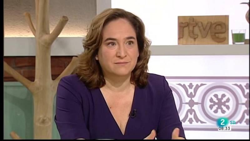 Gemma Nierga entrevista Ada Colau, alcaldessa de Barcelona, al Cafè d'idees