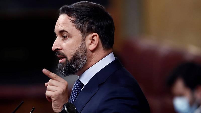 """Abascal a Podemos: """"Gobiernan con el único partido que ha mantenido entre sus filas a un condenado por violencia contra su mujer"""""""