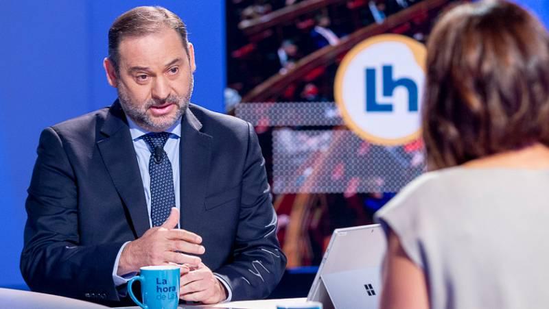 """Entrevista en La Hora de la 1: Ábalos pide al PP contribuir al """"aislamiento de la extrema derecha"""" durante la moción"""