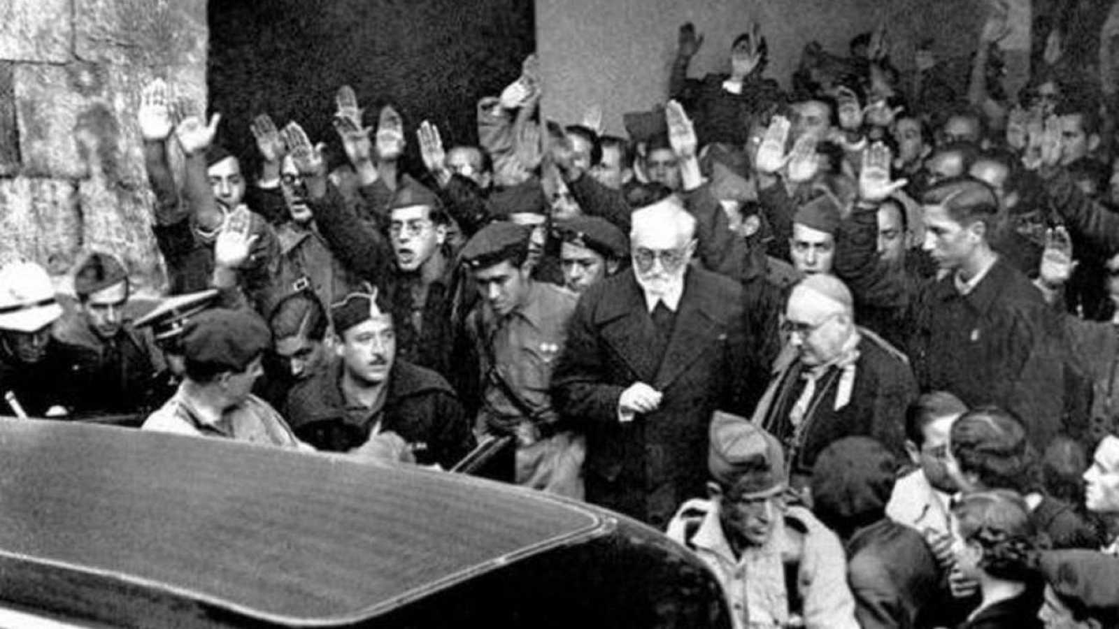 RTVE.es estrena el tráiler de 'Palabras para un fin del mundo', un documental sobre el famoso discurso de Unamuno y su muerte