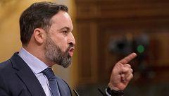 Abascal recuerda a Casado que sin Vox el PP no gobernaría Madrid, Andalucía y Murcia