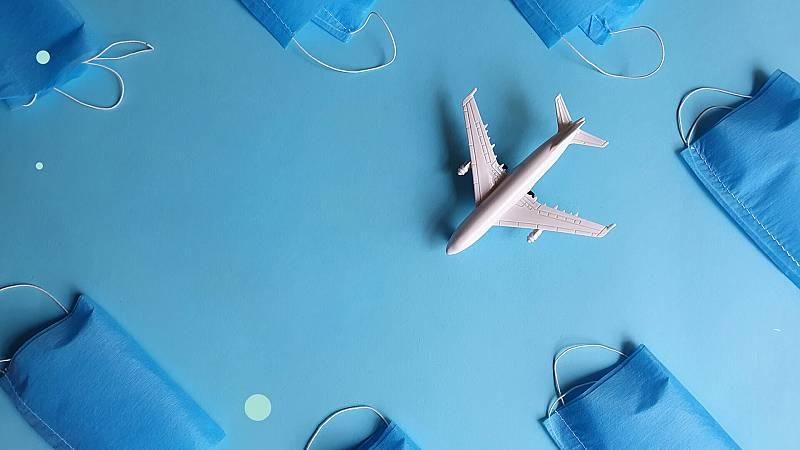 Covid-19: ¿Me puedo contagiar en el avión?