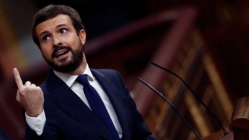 """Casado a Iglesias: """"Pensé que salía aquí a presentar su dimisión"""
