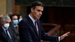 """Sánchez anuncia a Casado que """"detiene el reloj"""" de la reforma del CGPJ para pactar su renovación con el PP"""