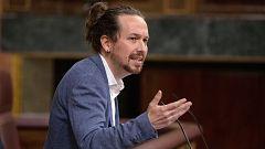 """Iglesias califica de """"brillante"""" el discurso de Casado contra Vox pero cree que el desmarque llega """"tarde"""""""