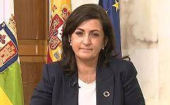 """La presidenta de La Rioja, sobre el toque de queda:""""Hemos propuesto la apertura hasta las 21h tanto en hostelería como en comerc"""