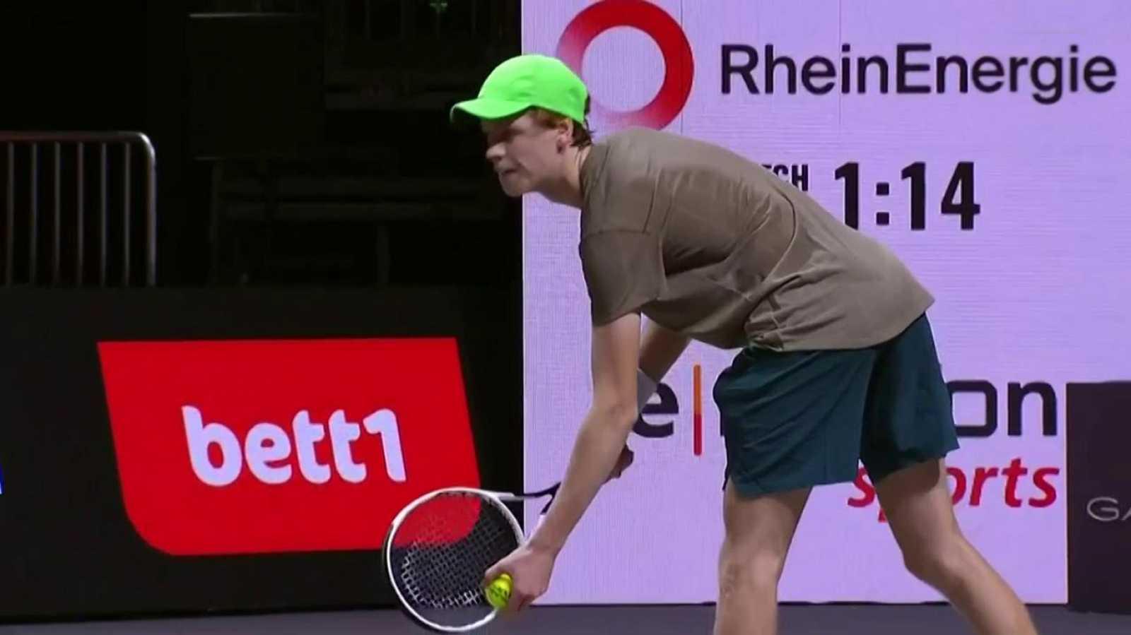 Tenis - ATP 250 Torneo Colonia (II): Pierre-Hugues Herbert - Jannik Sinner - ver ahora