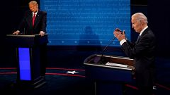 Especial informativo - Debate Presidencial EE.UU. entre Donald Trump y Joe Biden
