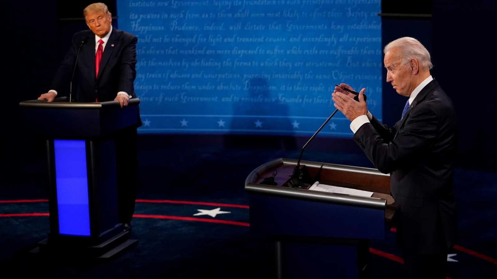 Especial informativo - Debate Presidencial EE.UU. entre Donald Trump y Joe Biden - ver ahora