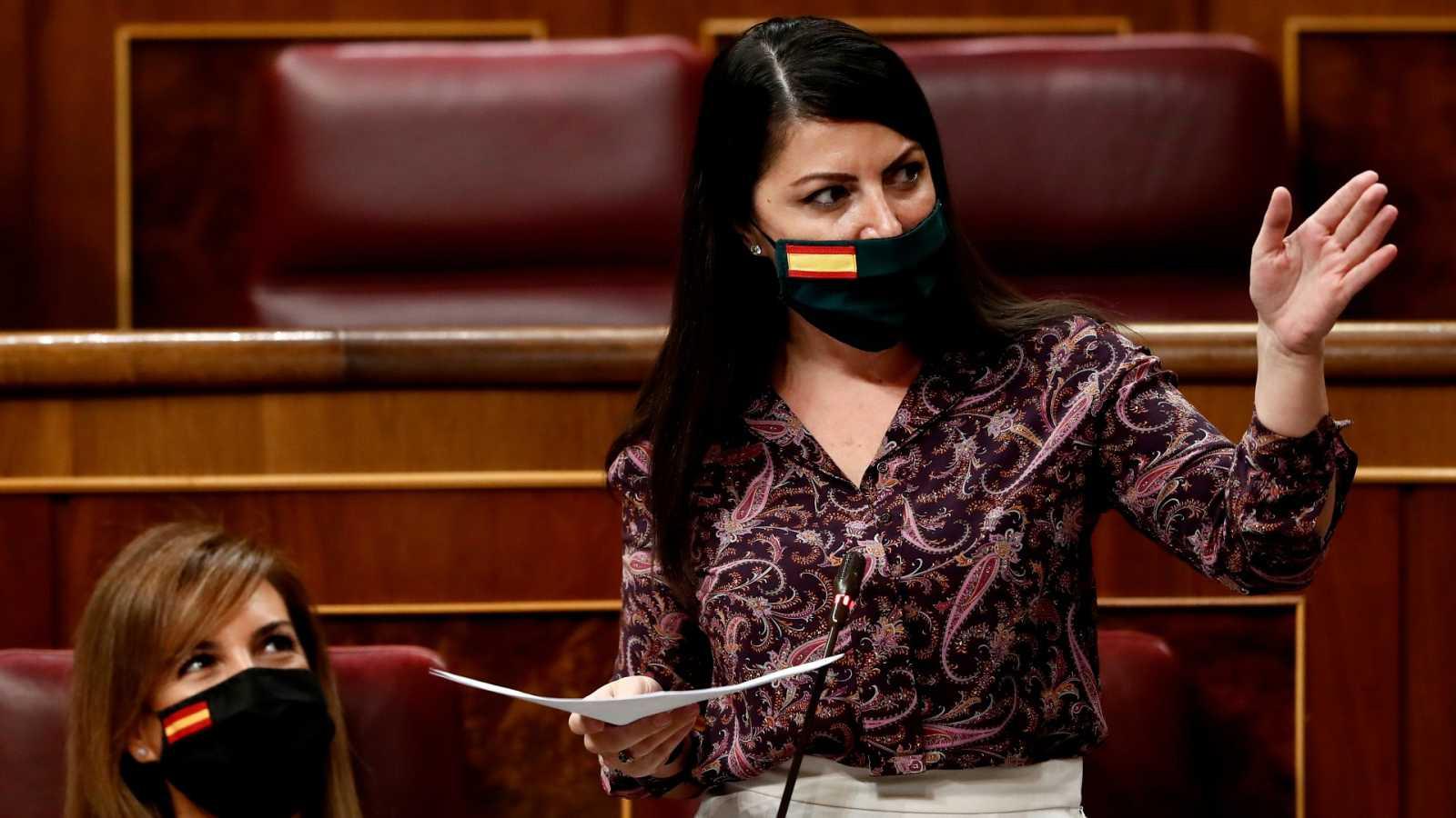 """Olona acusa a PP y PSOE de tener pactado el desarrollo y el relato de la moción de censura: """"Fue una performance"""""""