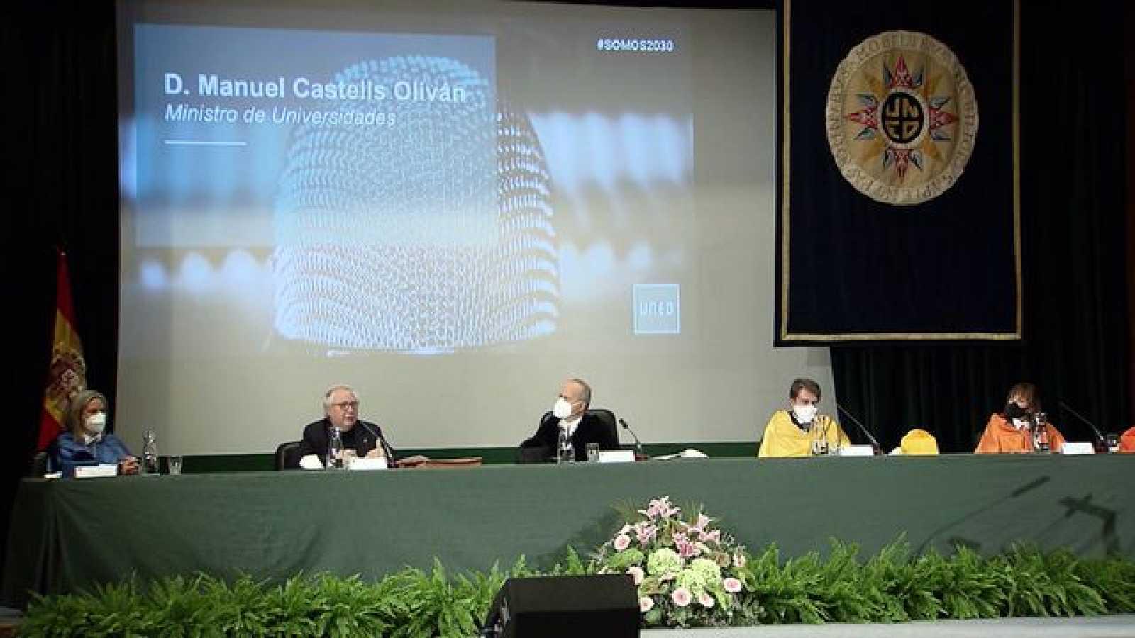 Inauguración del curso académico 2020-21 en la UNED