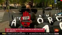 Protestas en Polonia por la restricción del derecho al aborto