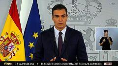 Especial informativo - Comparecencia del presidente del gobierno, Pedro Sánchez - 23/10/20