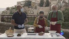 Aprendemos a cocinar ajo arriero en 'Como Sapiens'