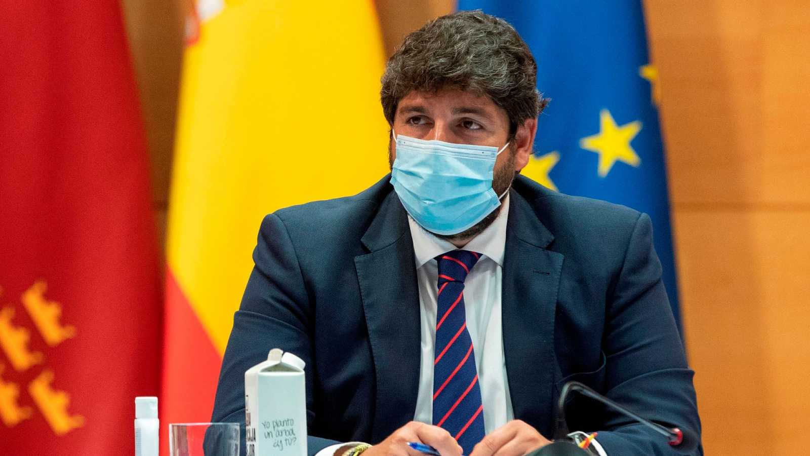 """López Miras: """"El toque de queda debe instaurarse lo antes posible"""""""