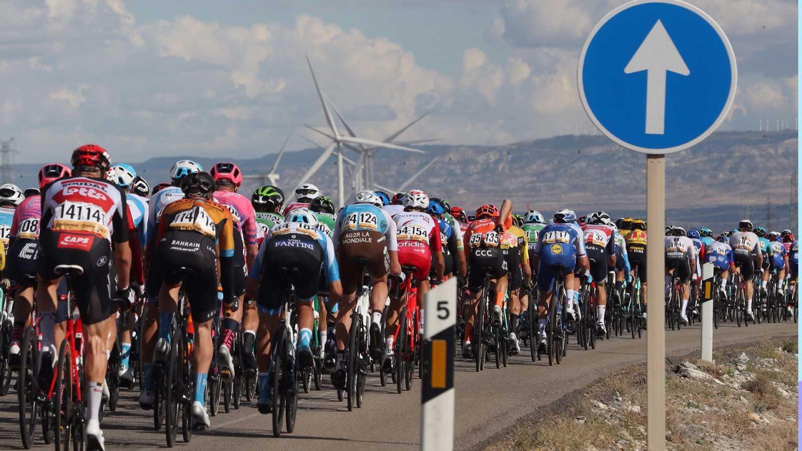 Vuelta ciclista a España 2020 - 4ª etapa: Garray-Numancia - Ejea de Los Caballeros - ver ahora