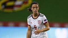 Aitana Bonmatí aprovecha un rechace para hacer el 3-0