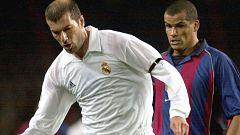 Zidane y Koeman, expertos en clásicos cuando eran jugadores